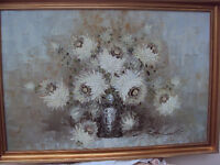 original oil paintingwith frame