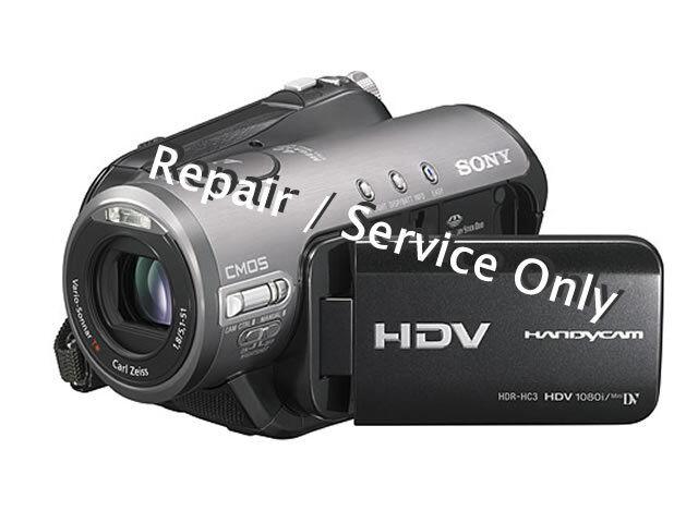 REPAIR / SERVICE for SONY HDR-HC3 / HC5 / HC7 / HC9 Digital Camera (*READ 1st*)