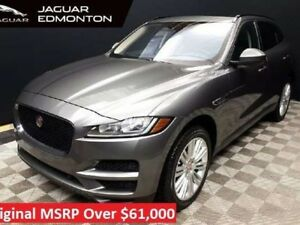 2017 Jaguar F-PACE Premium - Certified Pre-Owned Warranty until
