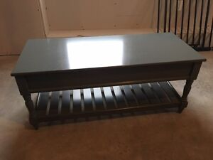 Grey Coffee Table / Bench with storage