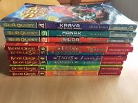 Selection of Beast Quest and Sea Quest books