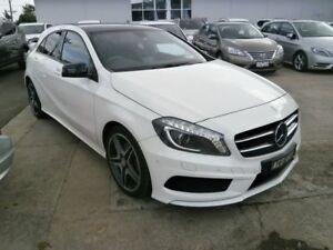 2014 Mercedes-Benz A200 CDI W176 D-CT White 7 Speed Sports Automatic Dual Clutch Hatchback