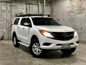 2012 Mazda BT-50 UP0YF1 XTR White 6 Speed Sports Automatic Utility Mile End South West Torrens Area Preview