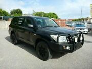 2007 Toyota Landcruiser UZJ200R Sahara Black Semi Auto Wagon Rosslea Townsville City Preview
