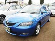 2004 Mazda 3 BK10F1 Maxx Blue 4 Speed Sports Automatic Sedan Minchinbury Blacktown Area Preview