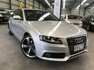 2009 Audi A4 B8 8K Multitronic Silver 8 Speed Constant Variable Sedan Murarrie Brisbane South East Preview