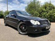 2007 Mercedes-Benz CLK350 C209 07 Upgrade Avantgarde Black 7 Speed Automatic G-Tronic Cabriolet Hoppers Crossing Wyndham Area Preview
