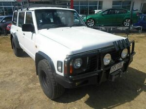 1995 Nissan Patrol GQ II RX White 5 Speed Manual Wagon Kippa-ring Redcliffe Area Preview