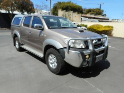2008 Toyota Hilux KUN26R 08 Upgrade SR5 (4x4) Desert Sand 4 Speed Automatic