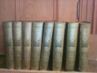 Antiquarian encyclopedia set - Harmsworth History Of The World in 8 volumes