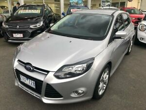 2013 Ford Focus LW MkII Sport PwrShift Silver 6 Speed Sports Automatic Dual Clutch Hatchback Lilydale Yarra Ranges Preview