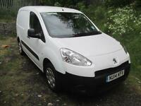 Peugeot Partner L1 850 S 1.6 Hdi 92PS Van DIESEL MANUAL WHITE (2014)