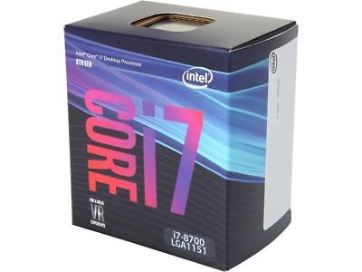 Intel Core i7-8700 Coffee Lake 6-Core 3.2 GHz (4.6 GHz Turbo) LGA 1151 (300 Seri