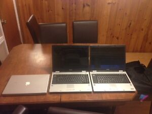 * 2 Toshiba laptops for parts M40/M45