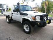2011 Toyota Landcruiser VDJ79R MY12 Update GX (4x4) White Cab Chassis Roselands Canterbury Area Preview