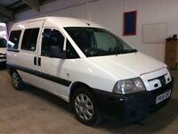 PEUGEOT EXPERT 2.0 HDI 110 MPV 5 SEAT DIESEL MANUAL WHITE MOT SPACIOUS N VAN ESTATE BERLINGO TRANSIT
