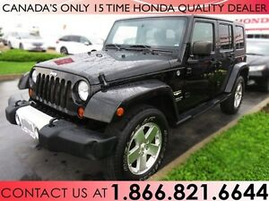 2008 Jeep Wrangler UNLIMITED SAHARA   1 OWNER   LOW PRICE