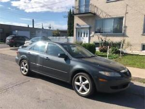 2004 mazda 6- AUTOMATIC-  4 cylindres - BESOIN DAMOUR-  900$