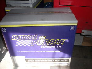 ROYAL PURPLE    Pack of  3 Jugs  Synthetic oil 0W20