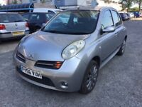 NISSAN MICRA SPORT 2006 PETROL 1.2 MANUAL SILVER FOR SALE!!!