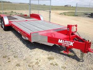 REDUCED - New 2015 Majestik L270 20ft Tilt with (extras)-151906