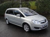 Vauxhall Zafira 1.8I 16V ELITE 140PS (silver) 2010
