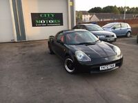 Toyota MR2, Hard & Soft-Top, Outstanding Condition, New MOT, Warranty