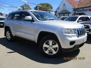 2011 Jeep Grand Cherokee WK MY2011 Laredo Silver 5 Speed Sports Automatic Wagon Gepps Cross Port Adelaide Area Preview
