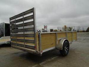 ALL ALUMINUM HIGH SIDED 6.5 X 12' LANDSCAPE TRAILER LOWEST PRICE London Ontario image 3