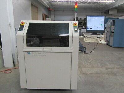 Mpm Up2000 Stencil Printer Pc Board Smt Bga Solder Pcb Fully Automatic Screen