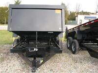 2015 6.8X12 12,000lb GVWR Dump Trailer **ON SALE** 1 LEFT