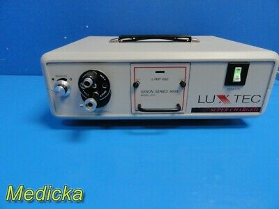 Luxtec Supercharged Model 9175 Xenon Series 9000 Light Source W Turret 24152