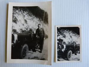 2 photos anciennes automobile voiture amilcar ann e 20 30 ebay. Black Bedroom Furniture Sets. Home Design Ideas