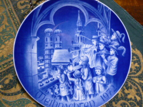 Bayreuther Christmas Plate West Germany 1972  Frauenkirche Munich