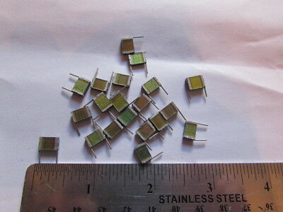 Siemens .033uf 5 250v Stacked Radial Metal Film Capacitors Quantity 20pcs
