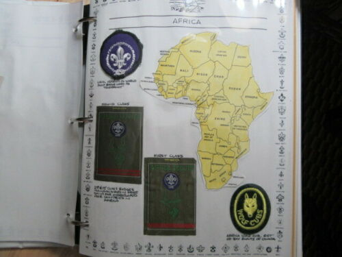 Africa Boy Scout Patches Produced by Free China    c27