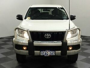 2012 Toyota Landcruiser Prado KDJ150R GX White 5 Speed Sports Automatic Wagon Edgewater Joondalup Area Preview