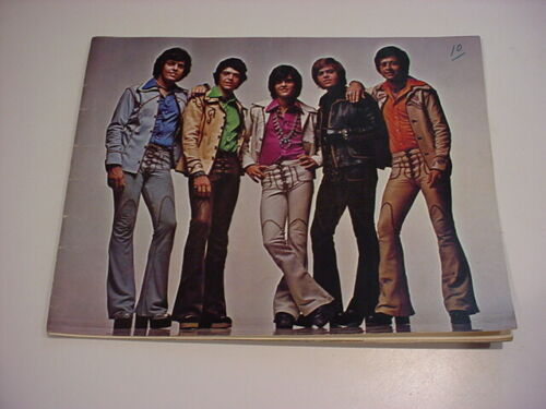 rare 1975 OSMONDS OSMOND Brothers MARIE DONNY TOUR PROGRAM