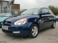 2006 06 HYUNDAI ACCENT 1.4 ATLANTIC LIMITED EDITION 3D AUTO 96 BHP