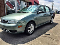 2005 Ford Focus ZX4 - AC, Automatic, Remote Starter, No Rust.