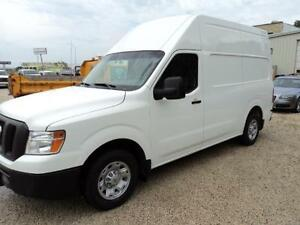 Nissan NV 2500HD v6 auto raised roof $20900