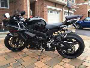 GSX-R 600 - Such a great bike - hardly used (see pic)