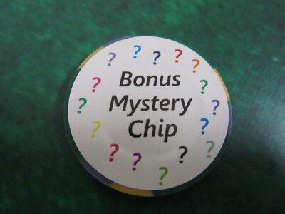 $2.50 CHUKCHANSI GOLD Resort & Casino + FREE Mystery Las Vegas Bonus Poker Chip