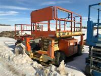2013 JLG 26' diesel 4x4 Scissorlift with outriggers w no hours! Edmonton Edmonton Area Preview