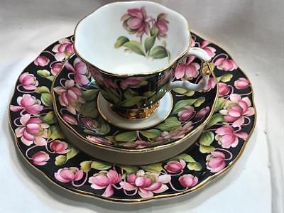 Royal Albert Provencial Flowers Pitcher Plant 3pc Set Fine Bone Vintage China