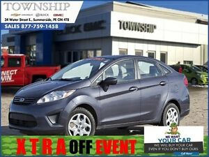 2012 Ford Fiesta S - $5/Day