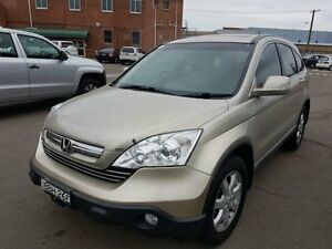 2007 Honda CR-V MY07 (4x4) Luxury Green 5 Speed Automatic Wagon Georgetown Newcastle Area Preview