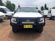 2011 Ford Ranger PX XL Double Cab White 6 Speed Manual Utility Minchinbury Blacktown Area Preview