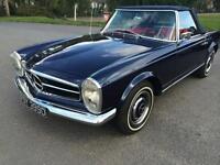 1966 MERCEDES-BENZ SL CLASS SL230 PAGODA 2DR