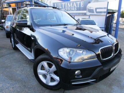 2008 BMW X5 E70 d Steptronic Black 6 Speed Auto Steptronic Wagon